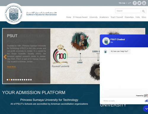 CSC Beyond Partners with PSUT to integrate our A.I Chatbot for educational purposes.